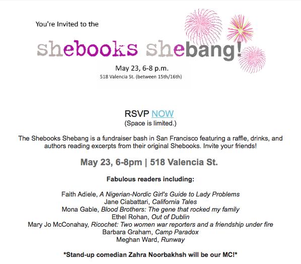 Shebooks Shebang!